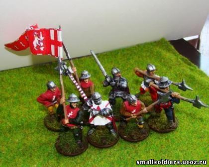 Воины алой и белой розы в англии